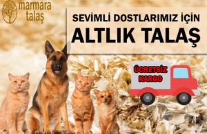 kedi köpek tavsan kumu altlık talaşı